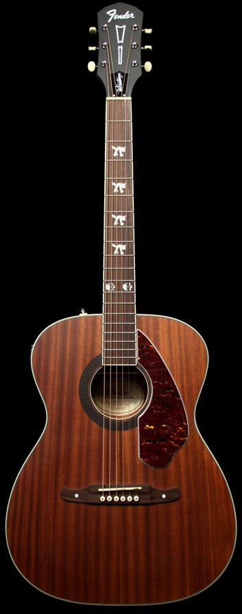 FENDER Artist Design Tim Armstrong Hellcat Acoustic, Natural   The Music Zoo
