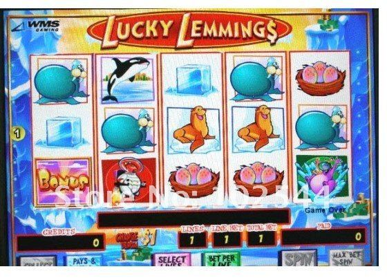 lucky lemmings slot machine online