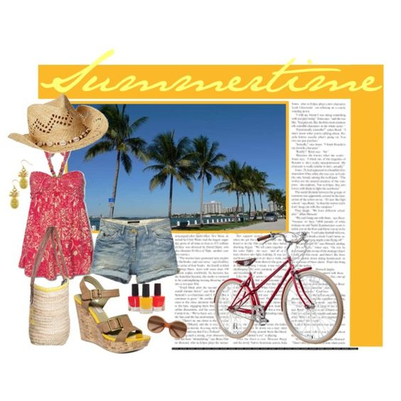 summertime, created by funnyjello on Polyvore