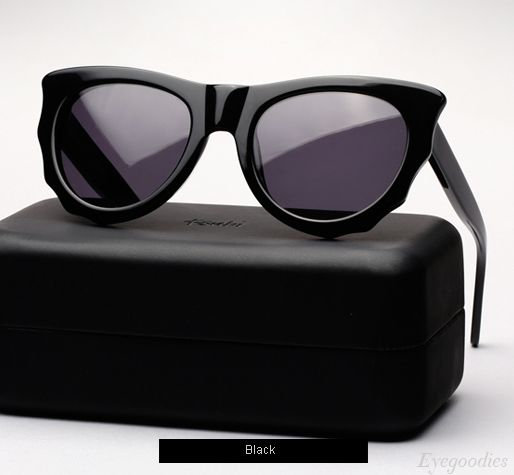Ksubi Batcat sunglasses - Black