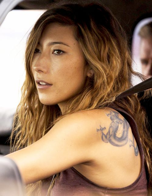 """dichenlachmandaily: """" Promotional photo of Dichen Lachman as Jesse in The Last Ship episode 3x02 """""""