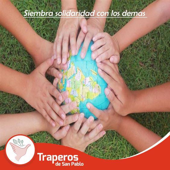 Ayuda a causas nobles sin ningún interés personal. Es la felicidad de dar esperanza y afecto al que lo necesita. ¡No pierdas la oportunidad de ayudar! #Reciclaje #Donación #EcologíaLibros #Perú Contáctenos : 258-3889 / 258-5262  http://traperosdesanpablo.org/