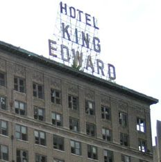 the historic Hotel King Edward in downtown Jackson, Mississippi ...
