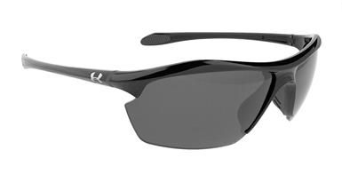 Under Armour Zone XL Sunglasses  in Shiny Black color with Gray Polarized Multi-Flection Lenses