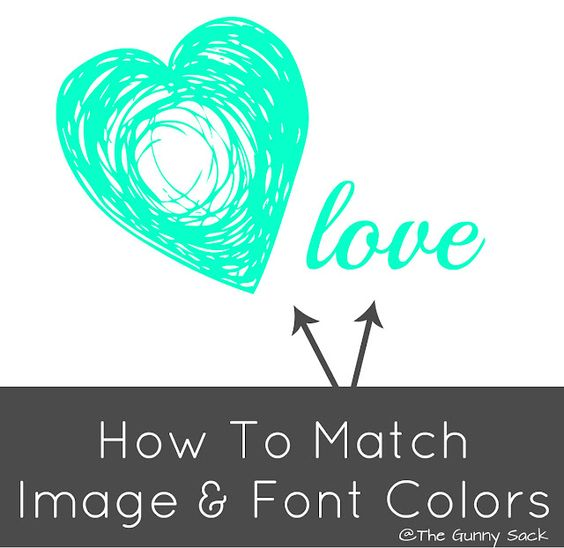 How To Match Image Font Colors PicMonkey