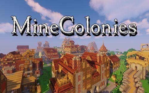 Minecolonies 1 16 3 1 15 2 Minecraft Mods Minecraft Fun World