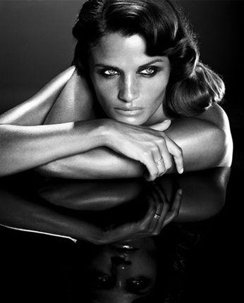 pinterest.com/fra411 #beauty - Helena Christensen. GeeZ Oh Pete She's perfect