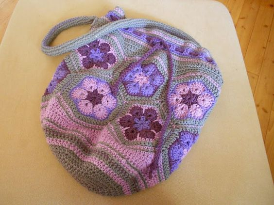Alla dagar som gick...: African Flower Tasche