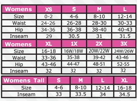 womens pants waist size chart: Pant sizes chart for women google search ft pinterest