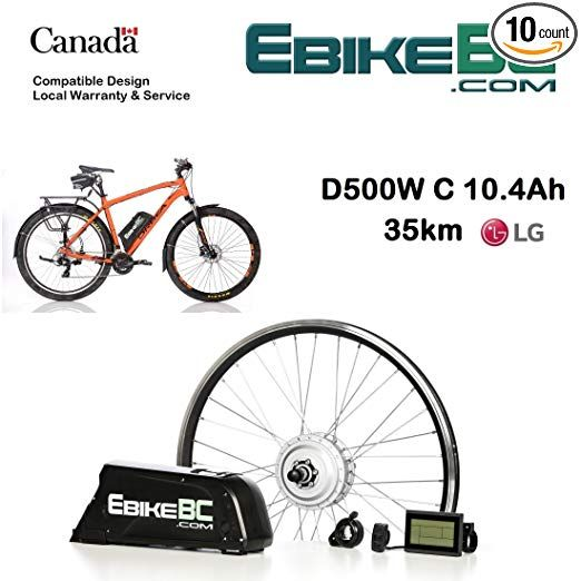 Ebike Kit 500 800w Electric Bicycle E Bike Complete Conversion Kit Front Hub Motor Battery Li Ion 40km H Lcd 26 27 5 28 29 700c Rim Sizes Bike Not Included R