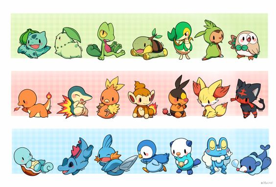 Starters of All Generations