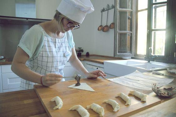 Croissants de Chocolate muy fáciles