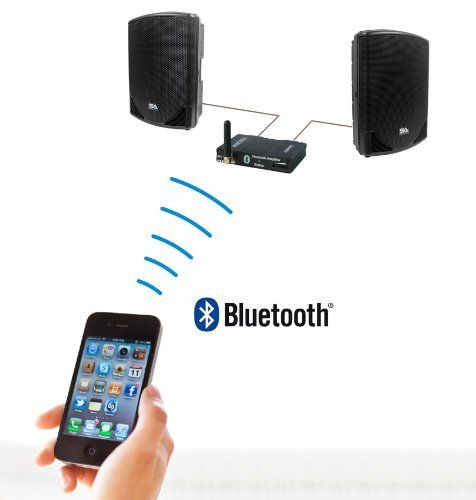 Amazon.com: Bluetooth Audio Receiver/Amplifier - Model 300 Black: Home Audio & Theater