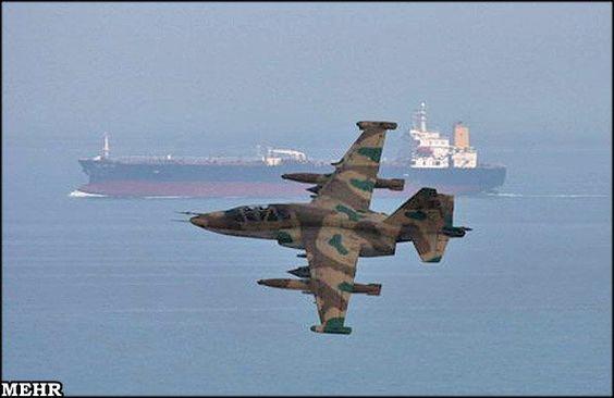 Su-25 | Pasdaran Su-25 Frogfoot jets in action