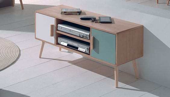 Meuble TV Mahony - Cocktail Scandinave (89€)