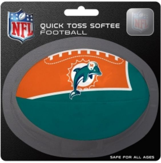 NFL Miami Dolphins Logo Football