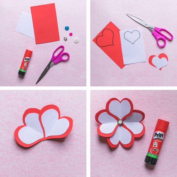 Aprende a hacer esta manualidad y sigue festejando el mes del Amor y la Amistad con Pritt en: www.prittworld.com #Manualidades #14defebrero #SanValentín #Flor #Papel #Pritt #Ideas #Fácil #Craft #Pink #Flower #Paper #DYS #DoItYourSelf