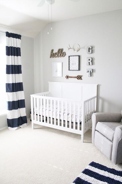 graham 39 s nursery reveal neutral baby boy nursery baby tucker pinterest boys baby boy. Black Bedroom Furniture Sets. Home Design Ideas