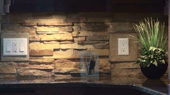 stone veneer kitchen backsplash design inspiration 25662 kitchen ideas