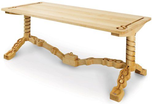 marbelous -- a table with a built-in marble track