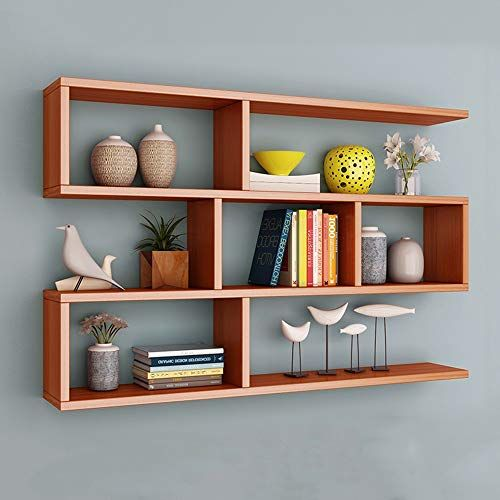 Bookshelf Ynn Wall Shelf Wall Hanging Bedroom Partition Wall