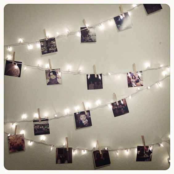 String Lights Polaroid : String of lights + #PostalPix = Perfection! / Photo by _ayeshah Wedding Inspiration ...