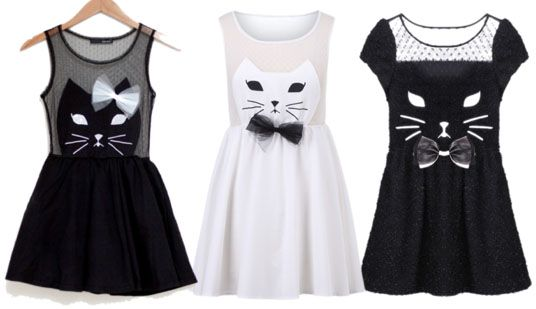 Cat dresses: