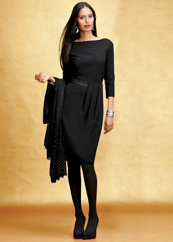 ooooooh.... Lafayette 148 Sleek Tech Cloth Delfino Dress