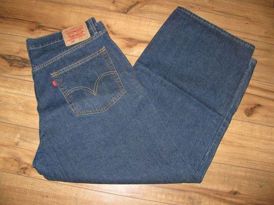 Levis 599 Mens Levi Blue Jeans 36 X 29 Giant Fit Levis GiantFit