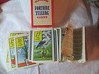 Vintage 1940 Gypsy Fortune Telling Playing Cards Deck w Instructions