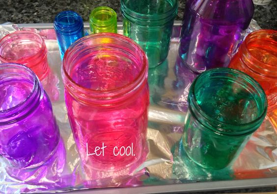 9-6 from smalllife,slowlife - How to Make DIY Colored Mason Jars