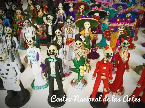 Centro Nacional de las Artes, Mexico City, Mexico - A place to understand Dia de muertos in a very nice place, a lot of activities for children's
