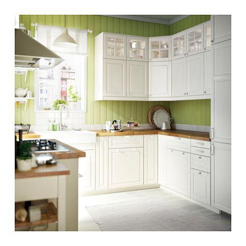 Ikea Kitchen Bodbyn: BODBYN Door, Off-white