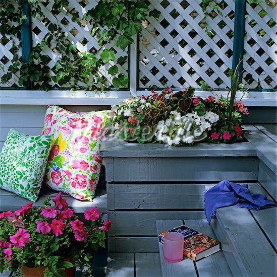 Planter Boxes Made From Composite Decking All Kind Of Wpc: Flower Boxes, Flower Pots And
