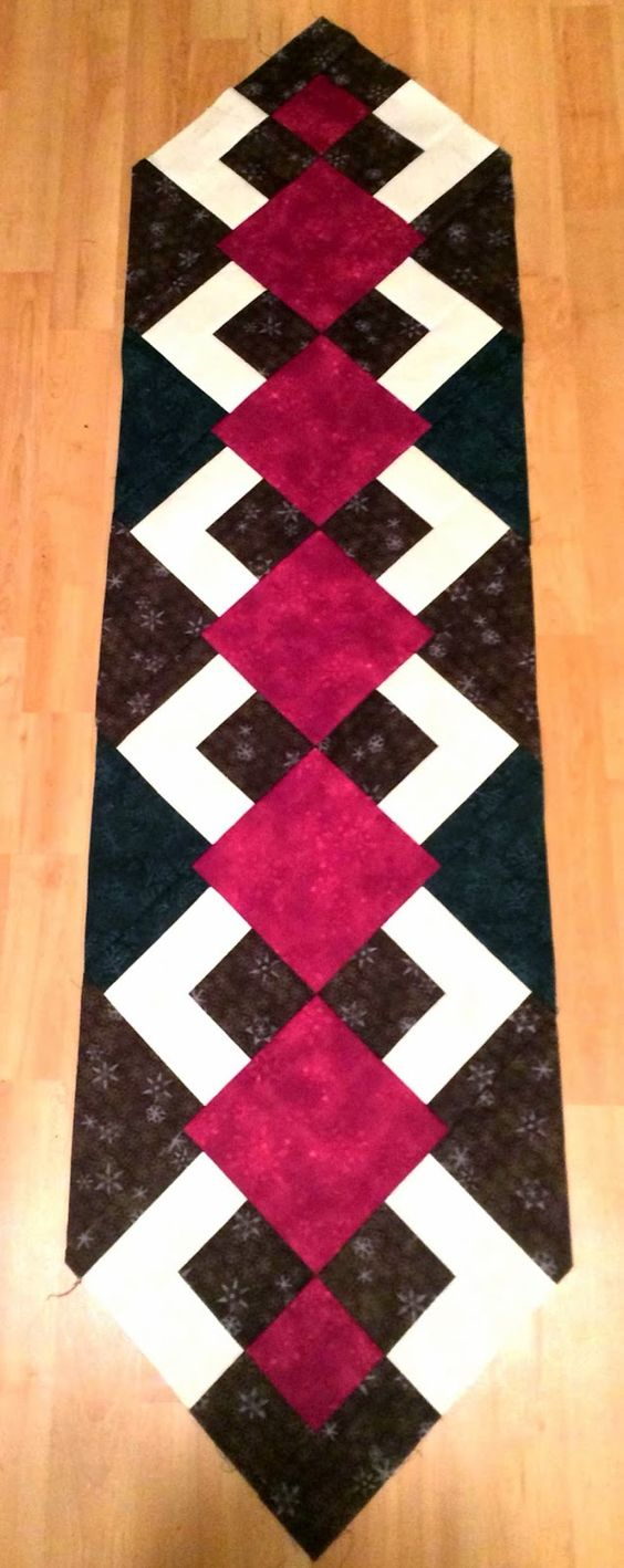 Christmas 2015 Christmas Table Runners And Free Pattern