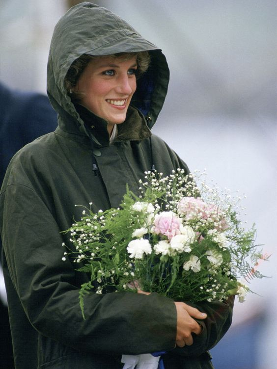 July 3, 1985: Princess Diana at Ardveenish on the island of Barra during a tour of the Western Isles, Scotland.