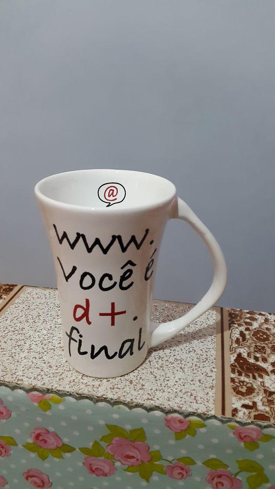 caneca porcelana www.você é d+.final