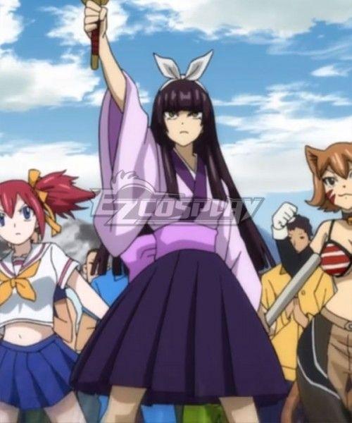 Fairy Tail Season 3 Kagura Mikazuchi Cosplay Costume Season Tail Fairy