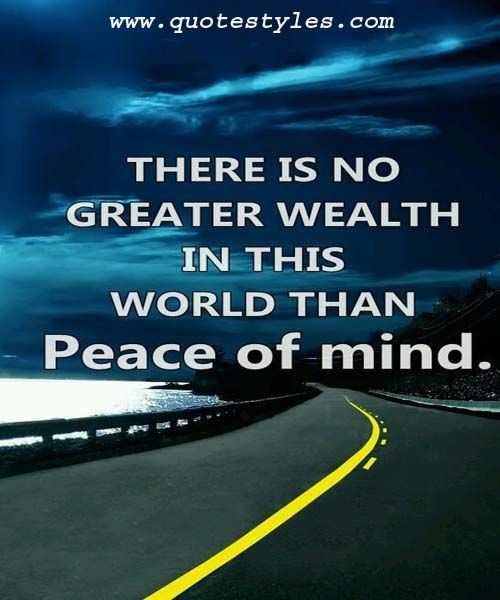 Peace Of Mind Life Quotes Inspirational Classroom Quotes Life Quotes Friendship Quotes
