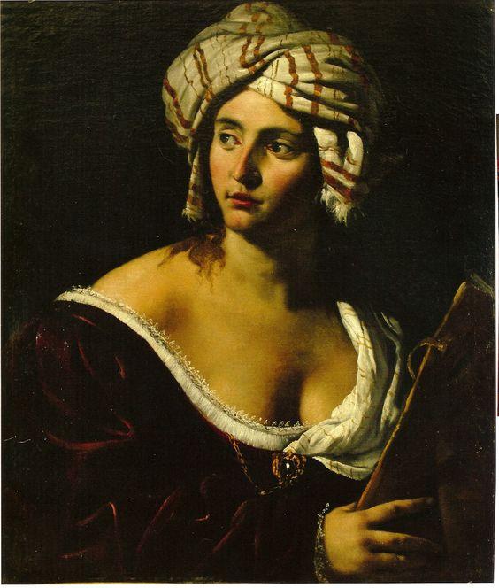 Artemisia Gentileschi - A Sibyl #chiaroscuro
