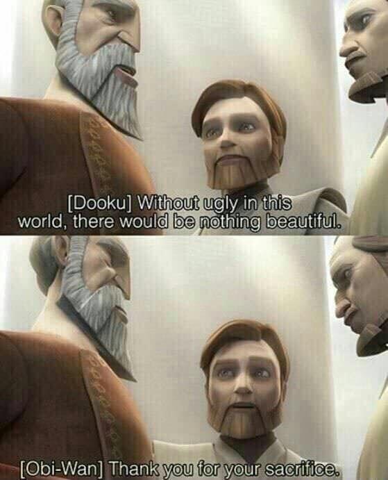 Obi Wan S Sass Star Wars Jokes Funny Star Wars Memes Star Wars