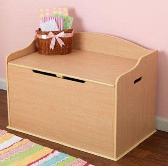 Austin Toy Box - Natural