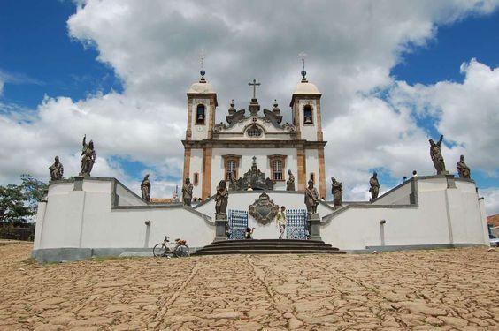 Minas Gerais Estrada Real Baroque Aleijadinho Brazil Catholic Church