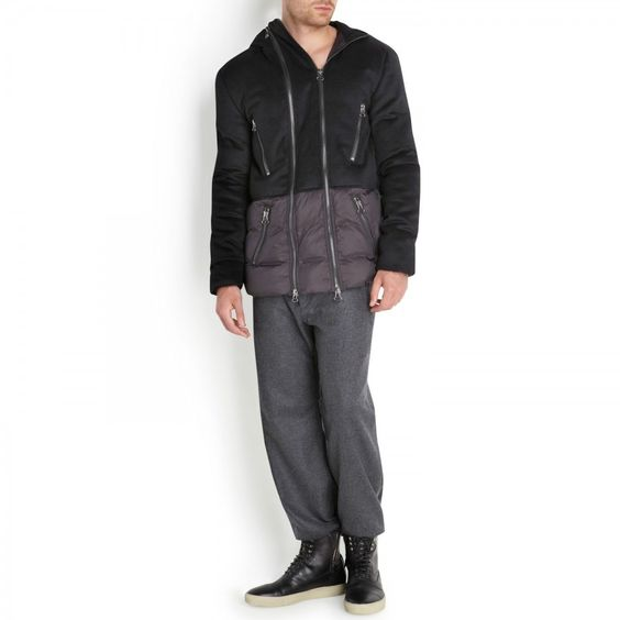 Wool blend jacket, Coats, Harvey Nichols Store View