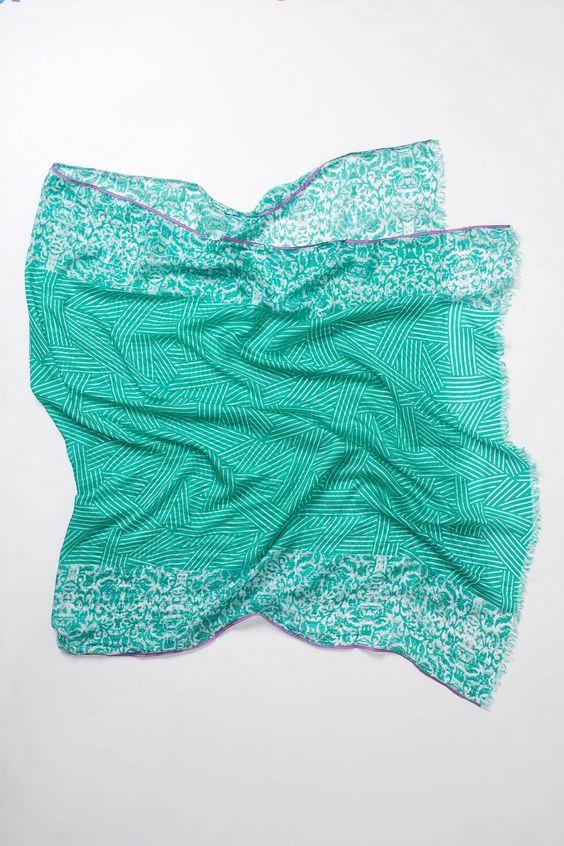 : Leafy Batik, Scarf Anthropologie, Clothes Style, Shopstyle Leafy, Scarves Wraps, Batik Inspiration, Anthropologie Leafy, Batik Silk