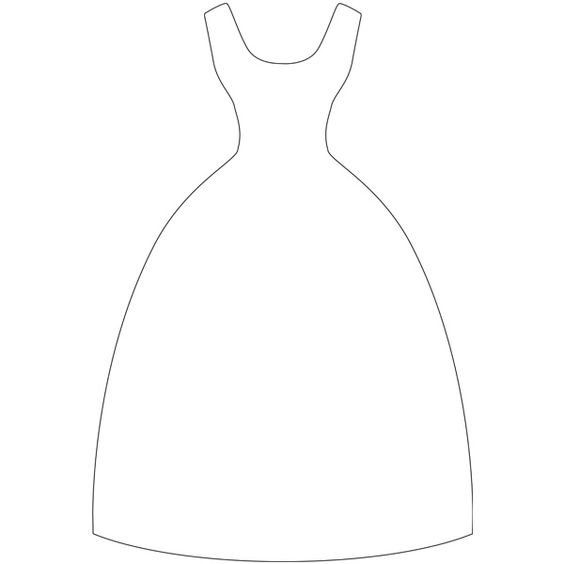 Dress template-you never know when you might need one!   Templates ...