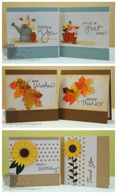 Crafting in the Country: Mini Card Sets