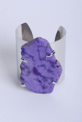Purple Stone Cuff | DWD | $23.21