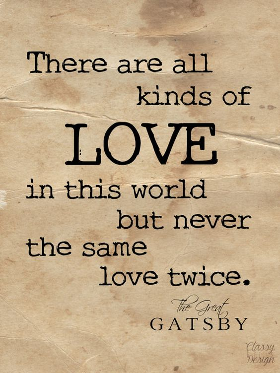 A beautiful Great Gatsby quote that anyone will love.