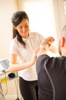 If you're experiencing pain in your wrist or have met with an accident due to which your wrist is constantly in pain, physical therapy can help you keep your pain under control, improve strength and to regain fine motor abilities of your wrist and hand. The #physiotherapist will focus on controlling the pain and swelling, and make you perform exercises that will help strengthen and stabilize the muscles around the wrist joint.
